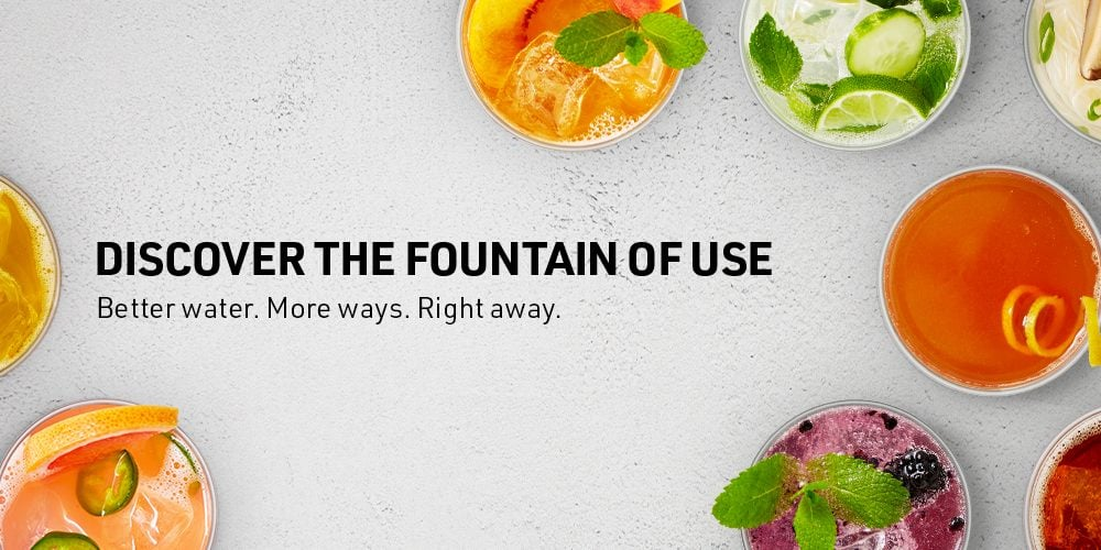 HydroTap Recipes- Discover the Fountain of Use